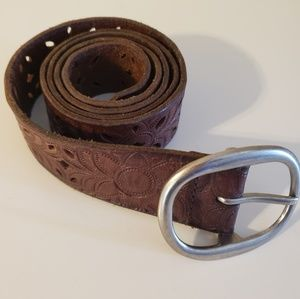 Fossil Leather Belt 41""